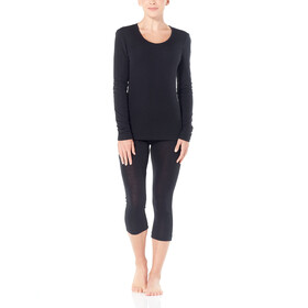Icebreaker 175 Everyday LS Scoop Shirt Dame black